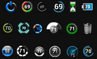 cara mengganti icon baterai android