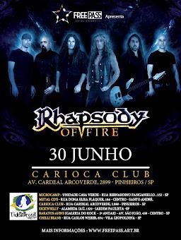 Rhapsody Brazil Tour 2012