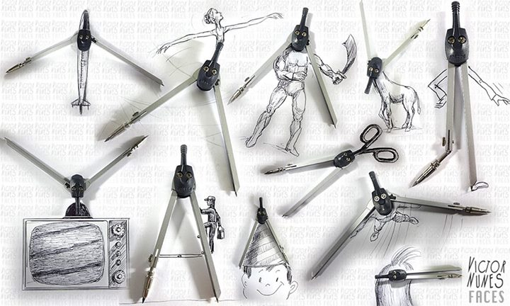 09-Compass-Drawings-Victor-Nunes-The-Art-of-Making-and-Drawing-Faces-using-Everything-www-designstack-co