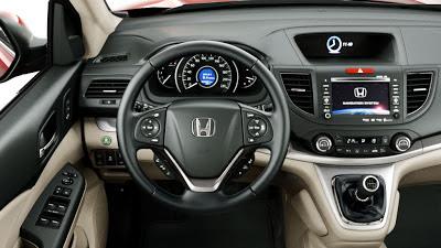Nuevo Honda CR-V 2013- interior - coches y motos 10