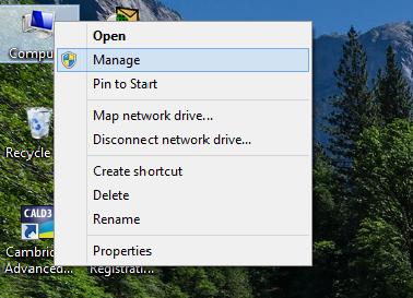 hide partition windows 8.1