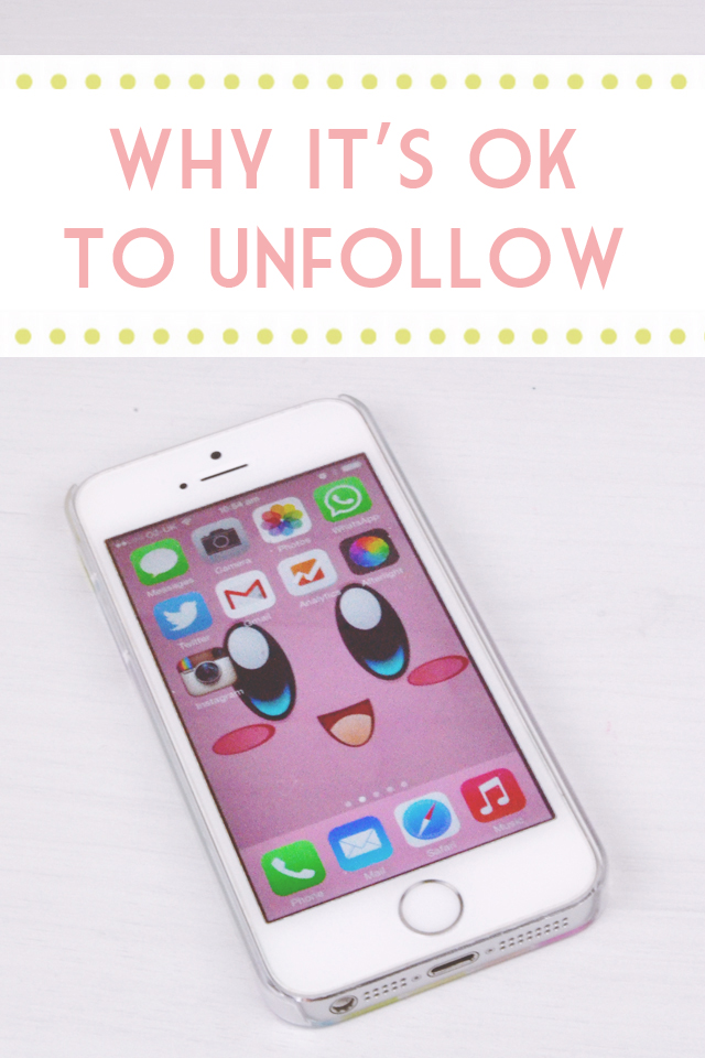 Why it's ok to unfollow on Twitter