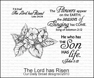 Our Daily Bread Designs, The Lord has Risen