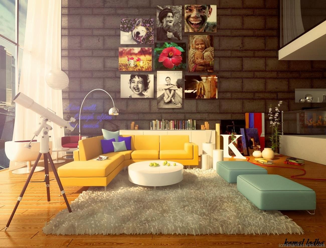 Ev Dekorasyonunda Renk Kullanımı
