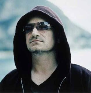 Bono Vox líder e vocalista da Banda U2.