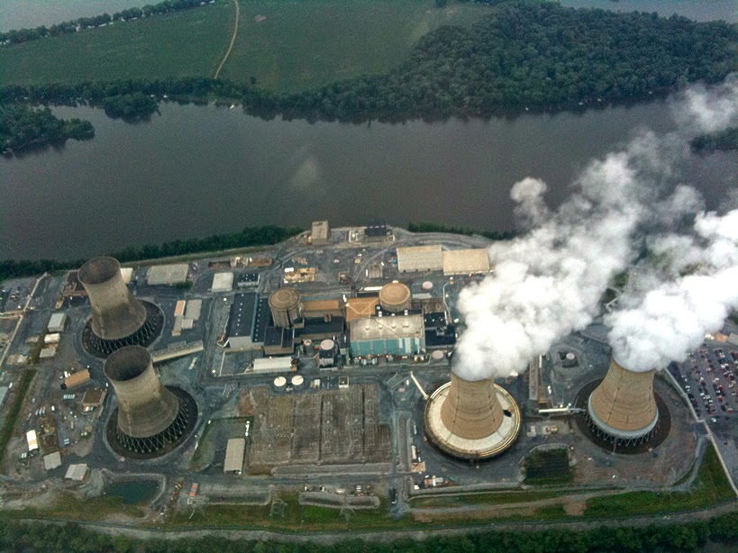 Three Mile Island Power Plant - worst nuclear disaster ranked 5th