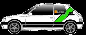 ACTUAL RACE CARS