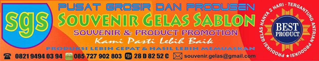 SGS Semarang - Pusat Grosir Souvenir Gelas Sablon dan Box Hantaran Lamaran