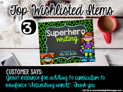 Superhero writing is a great way to have students practice their writing while they are engaged in their learning