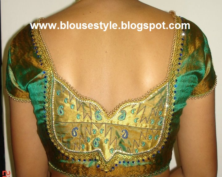 Model Blouse Designs 50