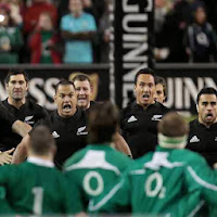 Ireland, New Zealand, Haka, rugby, All Blacks