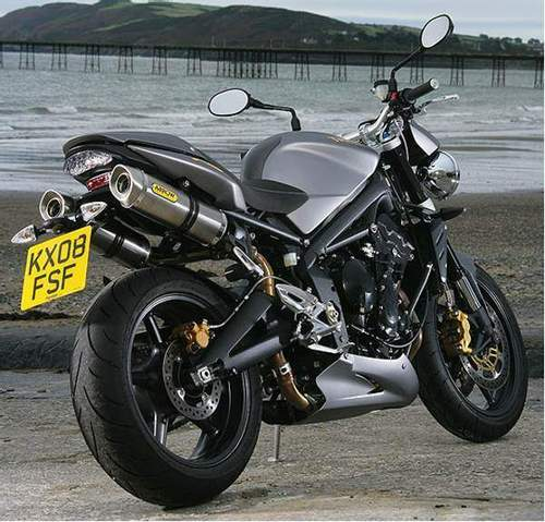 Arrow Exhaust Triumph Street Triple R