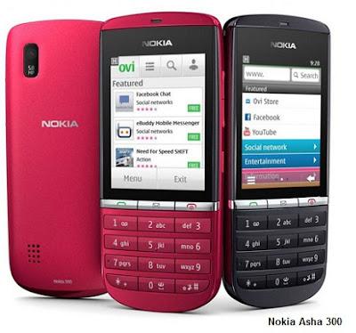 Nokia Asha 300 colors
