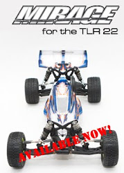 Mirage Clear TLR 22 Body by Method