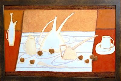 Светлана Бринюк, У каждого предмета есть своя аура или натюрморт с золотыми яблоками, 2012