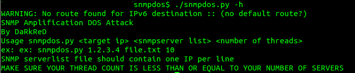 How To Do SNMP Multiplication Attack?