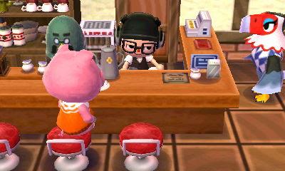 とび森 コーヒー しずえ