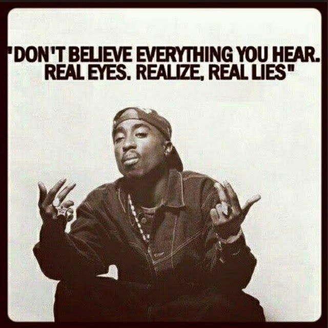 Real Eyes, Realize, Real Lies - Tupac Shakur - Real Hip Hop