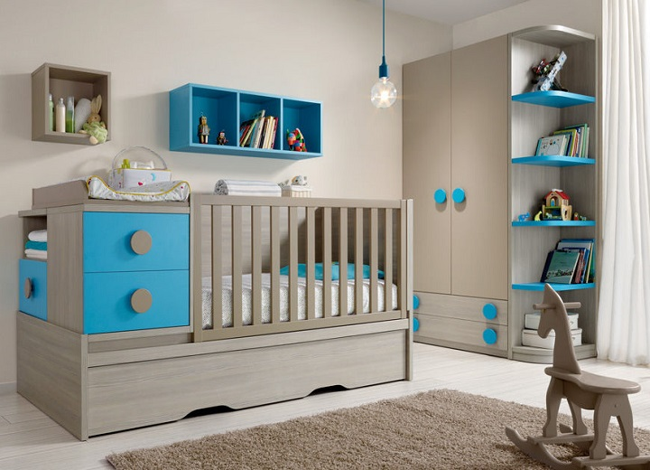 Photo d coration chambre b b gar on b b et - Idee deco chambre de bebe ...