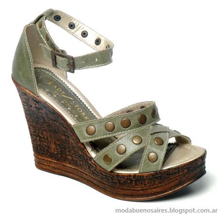 Lady Stork primavera verano 2013 sandalias y zapatos.