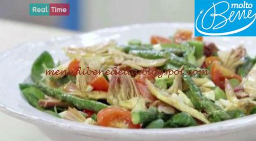 Insalata di asparagi e carciofi ricetta Parodi per Molto Bene