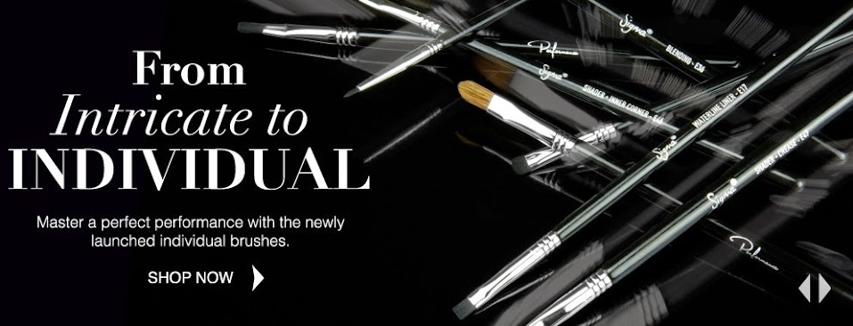 Sigma Beauty The Performance Eye Kit Individual Brushes