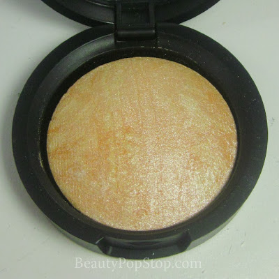 QVC Laura Geller Baked Stackable Macaroons Baked Brulee Highlighter in Toasted Coconut Review