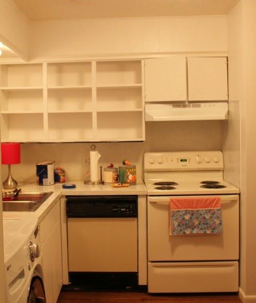 Apartment Kitchen Cabinets: Apartment Kitchen Reveal · Cozy Little House