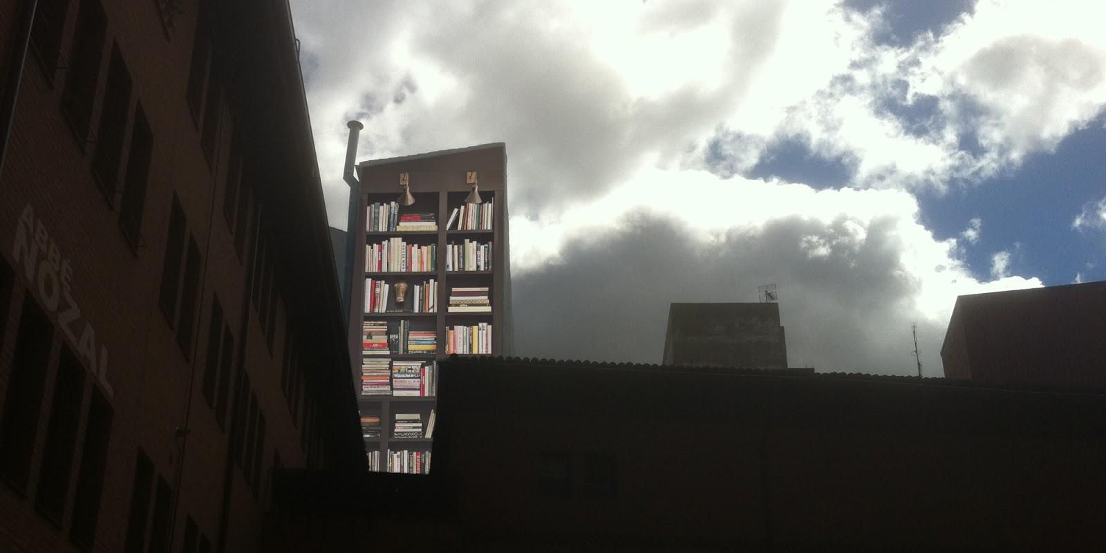 Lectura con chimenea, 2014 Abbé Nozal