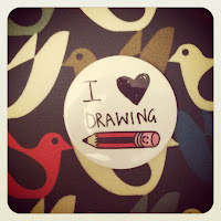 tate moder, lazy oaf,i <3 love, heart, drawing, caroline dulko,blue,orange,yellow satchels