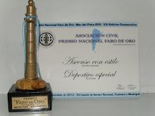 Premio Faro de Oro 2012