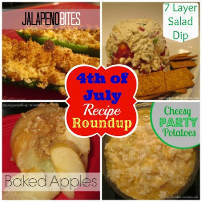 4th of July Recipe Roundup by Snippets of Inspiration