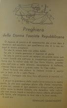 PREGHIERA DELLE DONNE FASCISTE REPUBBLICANE