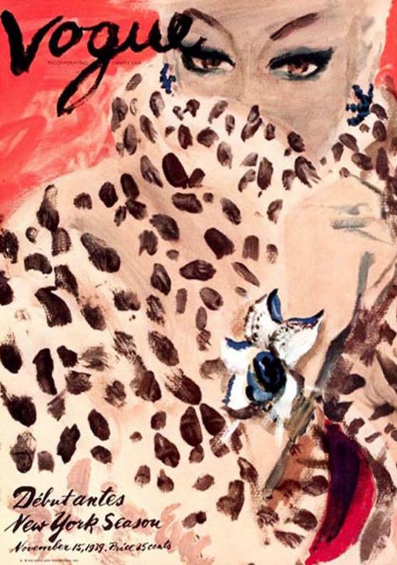 Carl Erickson ilustrador portada Vogue 1939