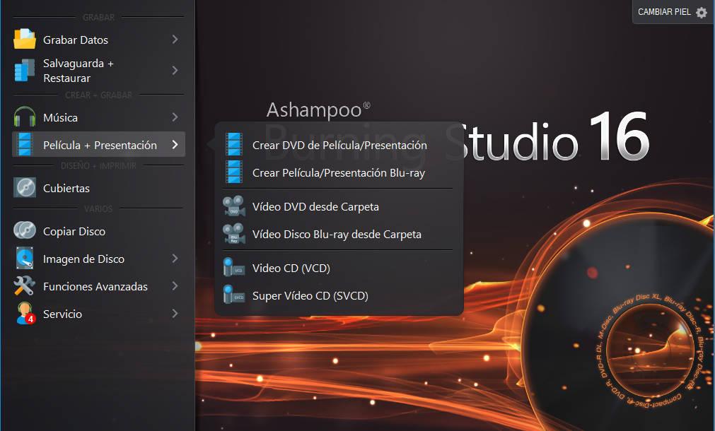 Ashampoo Burning Studio 16 Final Español