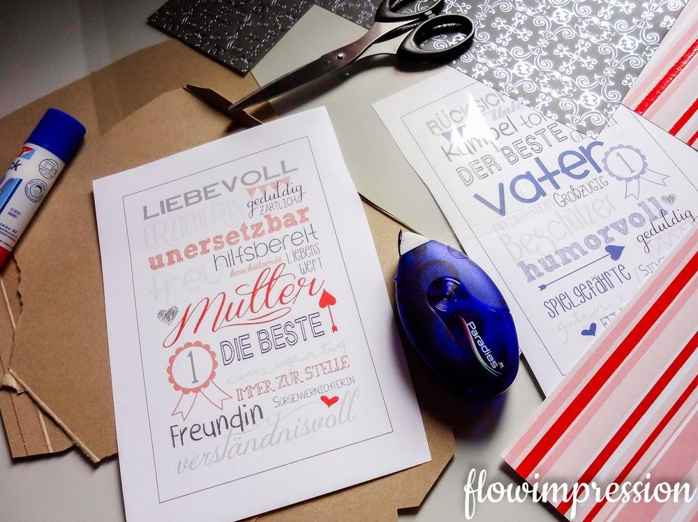 DIY Muttertagsgeschenk / Vatertagsgeschenk