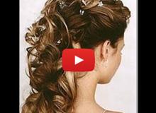 Video peinado de novia