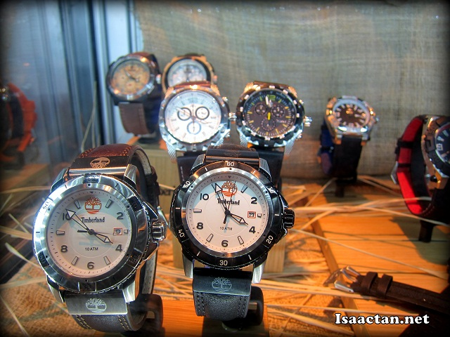 More shots of Timberland's latest watch collection