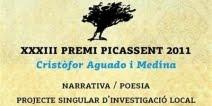 XXXIII Premi Picassent 'Cristòfor Aguado i Medina'