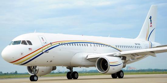 Gambar Pesawat ACJ 320 Milik Kerajaan Malaysia