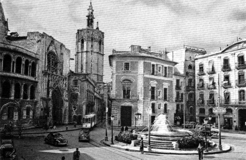 Plazas de valencia for Fotos antiguas de valencia