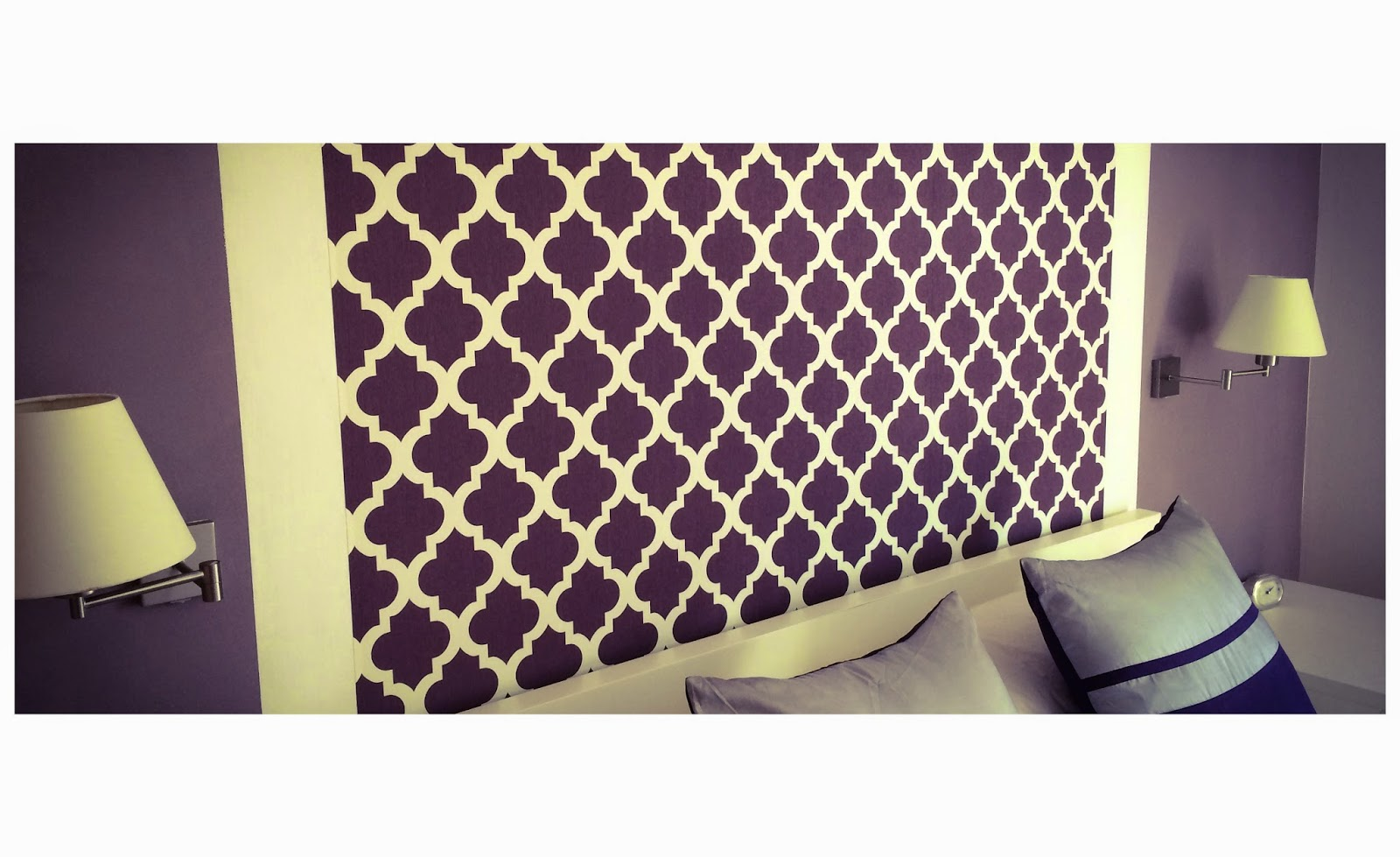 Cabeceros de cama con papel pintado fabulous papel for Cabeceros de cama con papel pintado