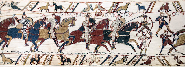 Cavalry Charge, Bayeux Tapestry
