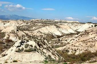 desierto de los Rodeos en Ceutí