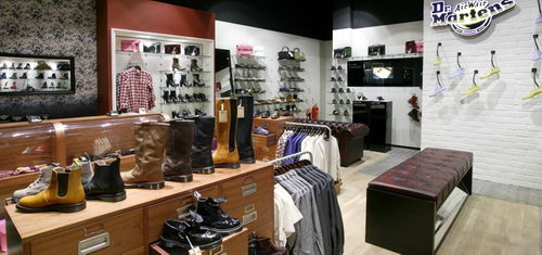 Dr Martens Store, Westfield, London Design