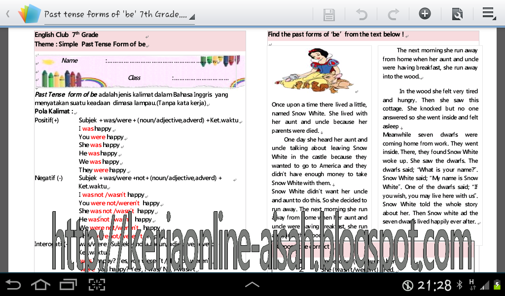 Related Posts Download Materi Dan Latihan Soal Tenses