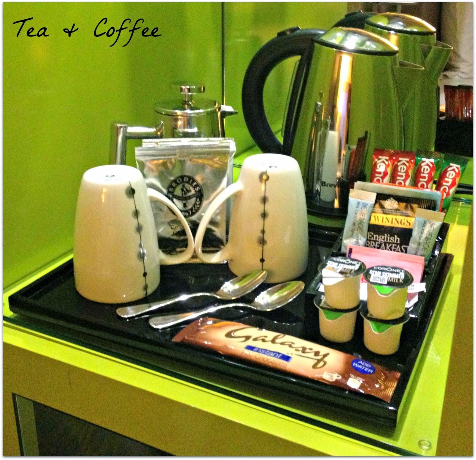 Foodie force november 2013 for Mini coffee bar