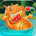 Hungry Hungry Hippos Icon Logo