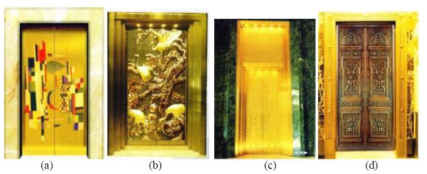 Çeşitli yatay sürme kapı modelleri