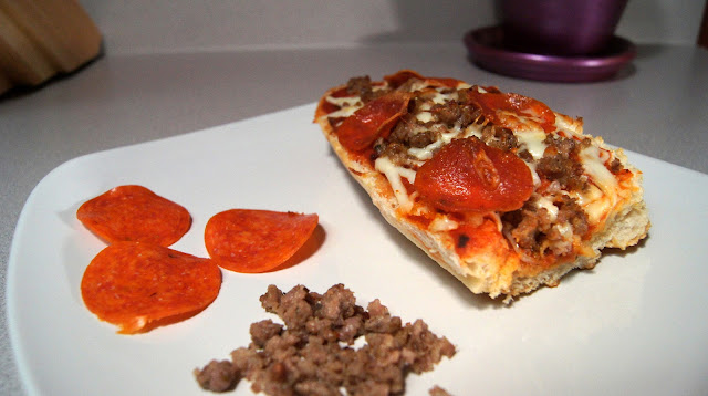 French Bread Pizza by The Network Fork